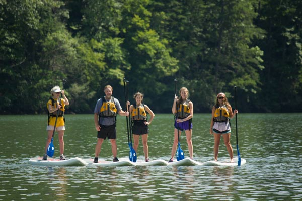 Chattooga SUP Tours - Wildwater